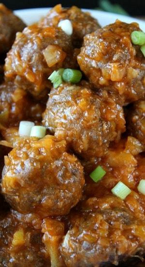 Pineapple Meatballs