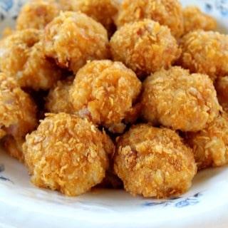 Crunchy Ham Balls