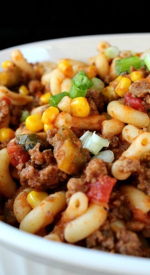 Spicy Southwest Goulash