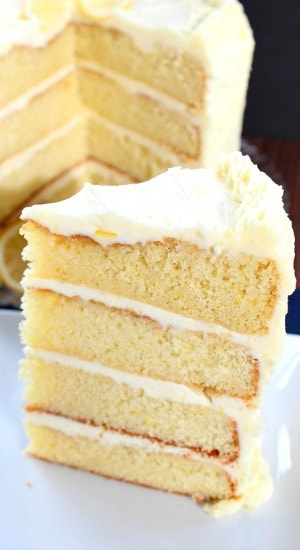Zesty Lemon Cake