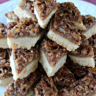 Pecan Diamond Cookie Bars