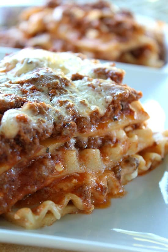 best classic lasagna recipe great grub delicious treats rh greatgrubdelicioustreats com lasagna recipe cottage cheese spinach lasagna recipe cottage cheese oven ready noodles