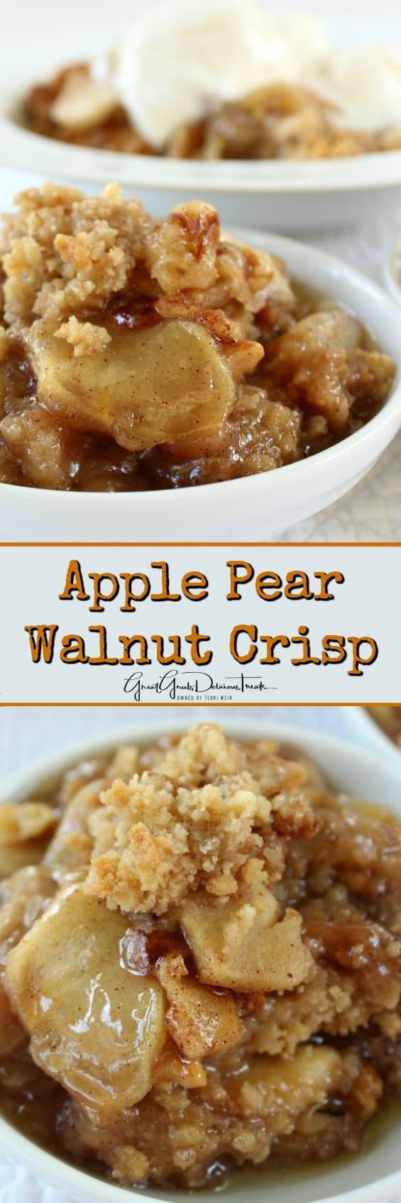 Apple Walnut Crisp