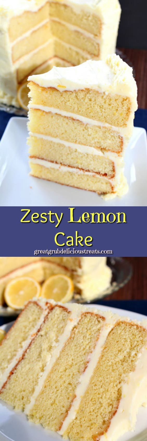 Zesty Lemon Cake -