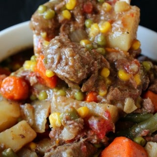 Crock Pot Beef Stew with a Kick