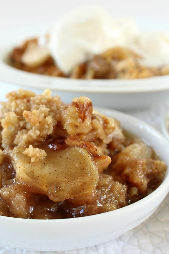 Apple pear walnut crisp great grub delicious treats for Apple pear recipes easy