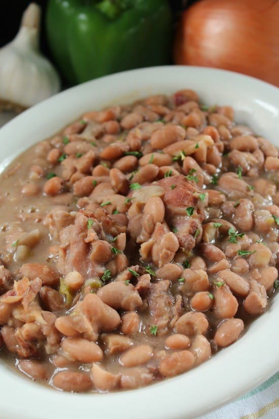 Crock Pot Beans and Ham
