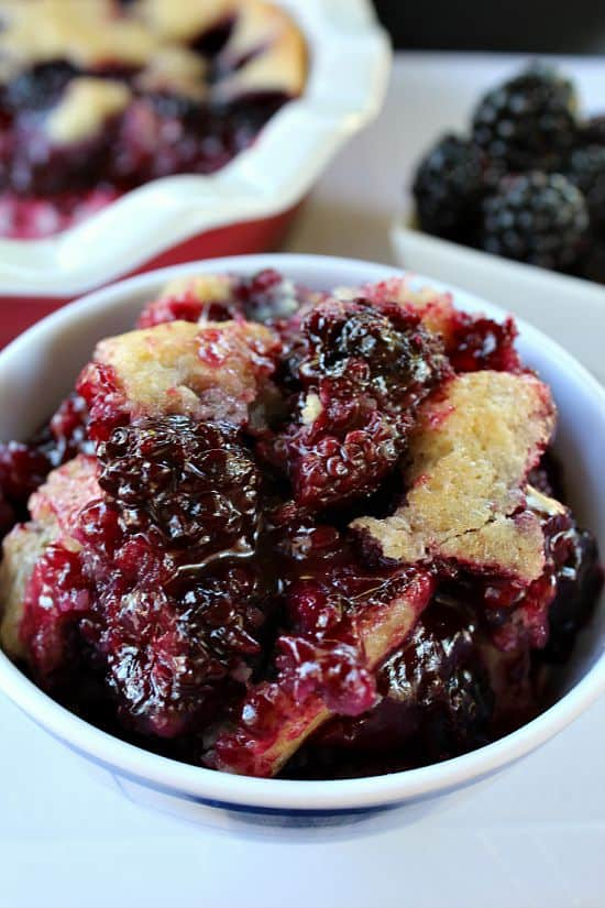 Blackberry Cobbler