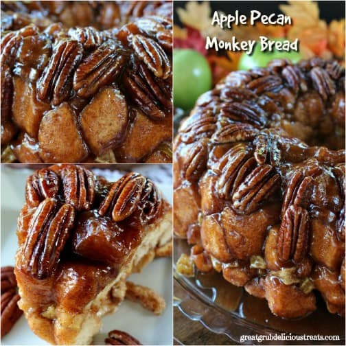 Apple Pecan Monkey Bread-