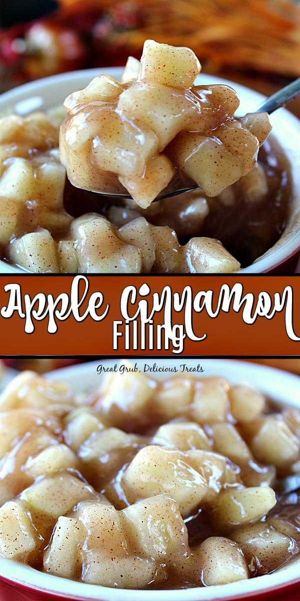 Apple Cinnamon Filling