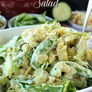 Chicken Curry Pasta Salad