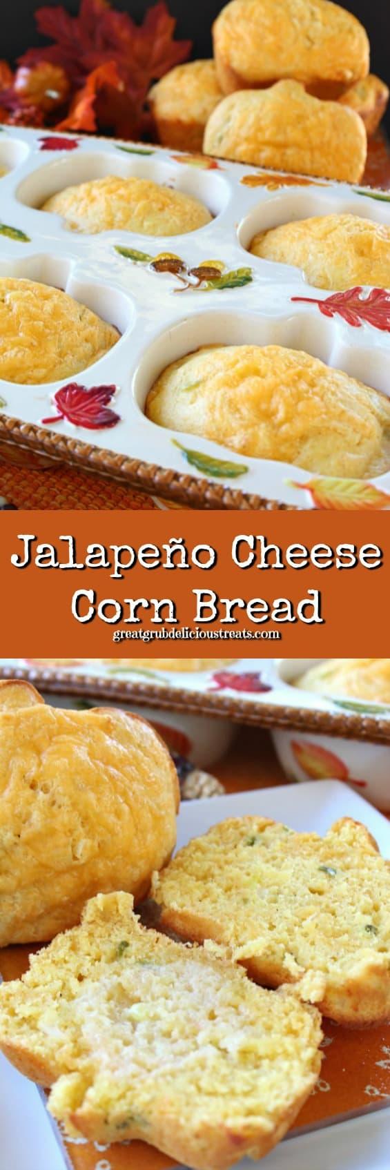 Jalapeno Cheese Corn Bread