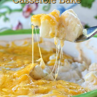 Cheesy Potato Casserole Bake