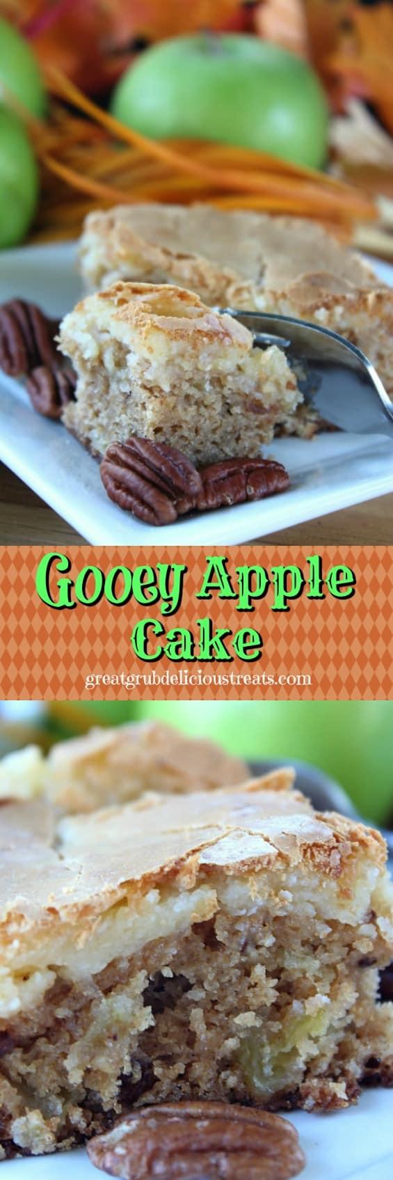 Gooey Apple Cake