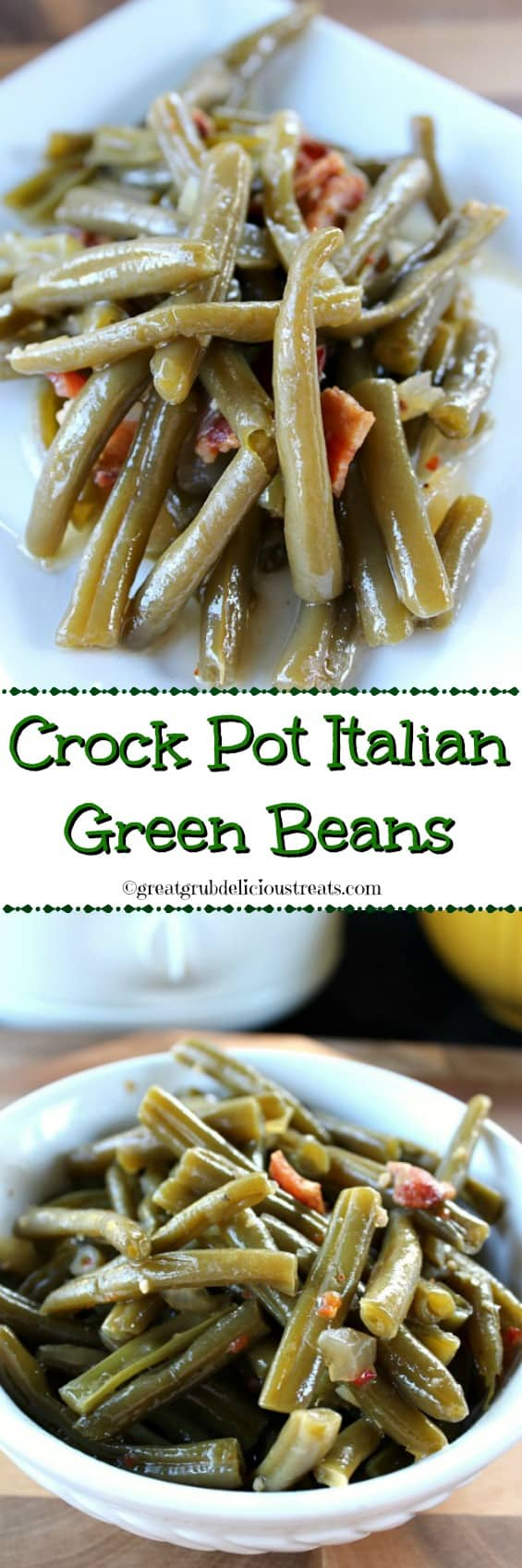Crock Pot Italian Green Beans