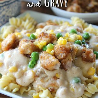 Spicy Chicken Pasta and Gravy