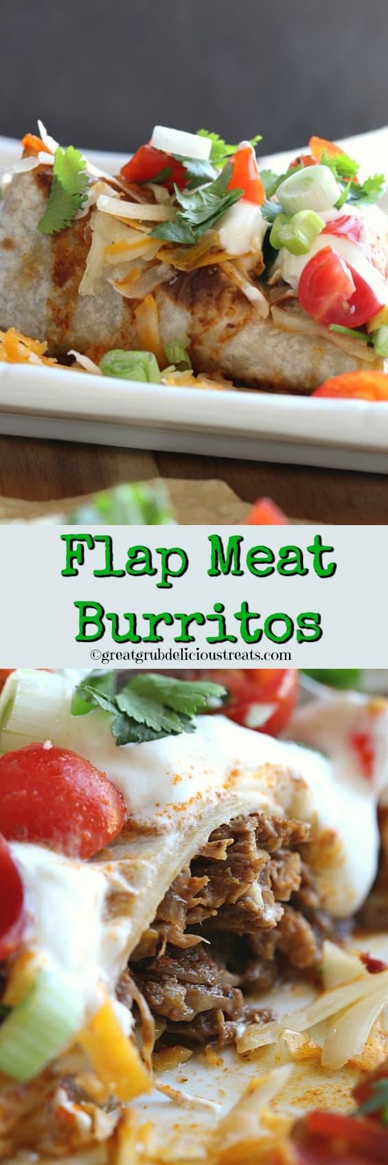 Flap Meat Burritos