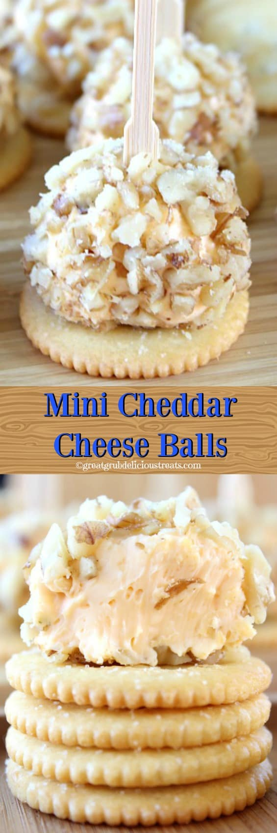 Mini Cheddar Cheese Balls