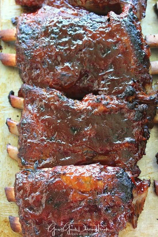 Crock Pot BBQ Pork Ribs