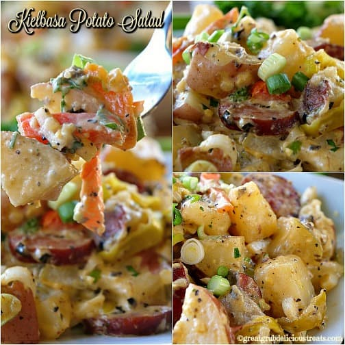 Kielbasa Potato Salad