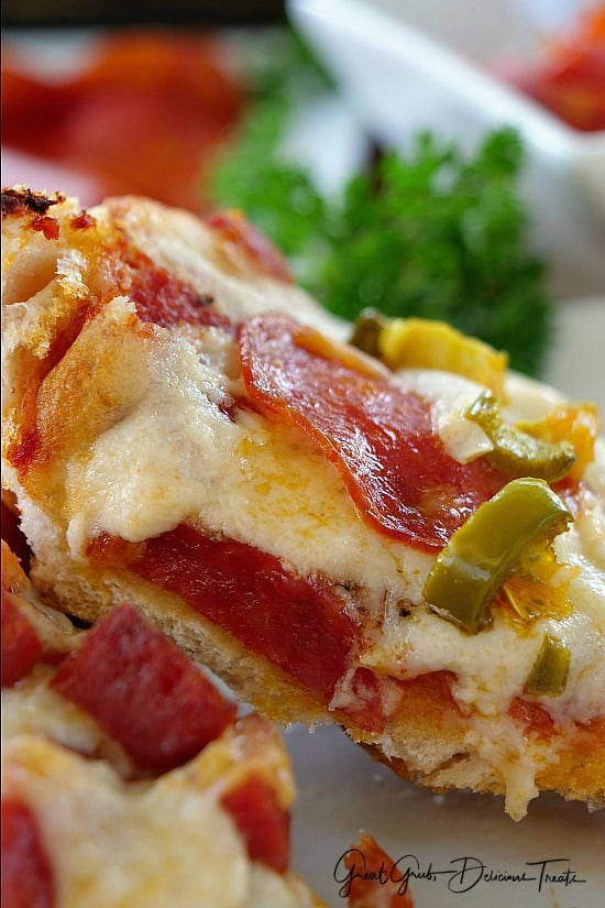 Pepperoni Lover's Pizza Bread