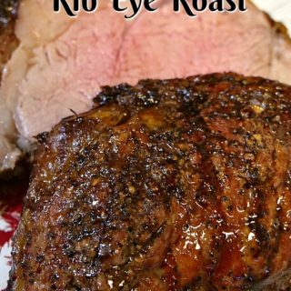 Bacon Wrapped Rib Eye Roast