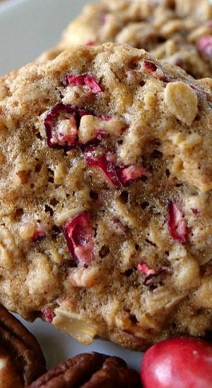Cranberry Pecan Oatmeal Cookies