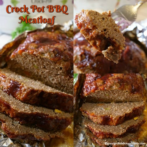 Crock Pot BBQ Meatloaf