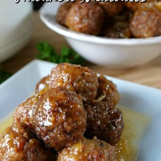 Crock Pot Pineapple Habanero Meatballs