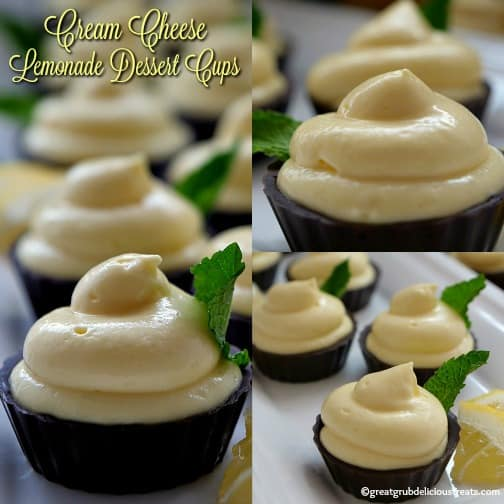 Cream Cheese Lemonade Dessert Cups