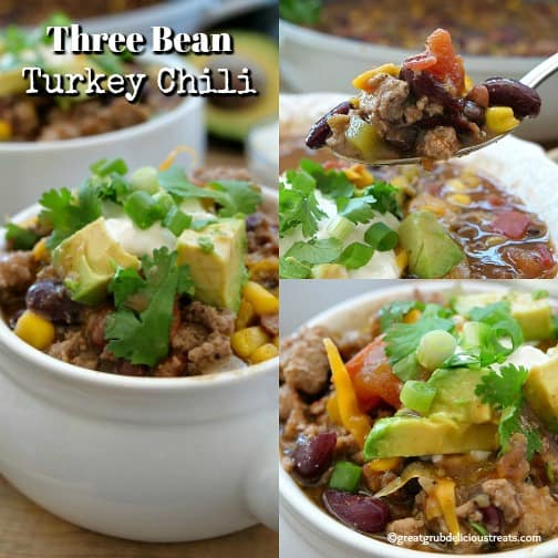 Three Bean Turkey Chili