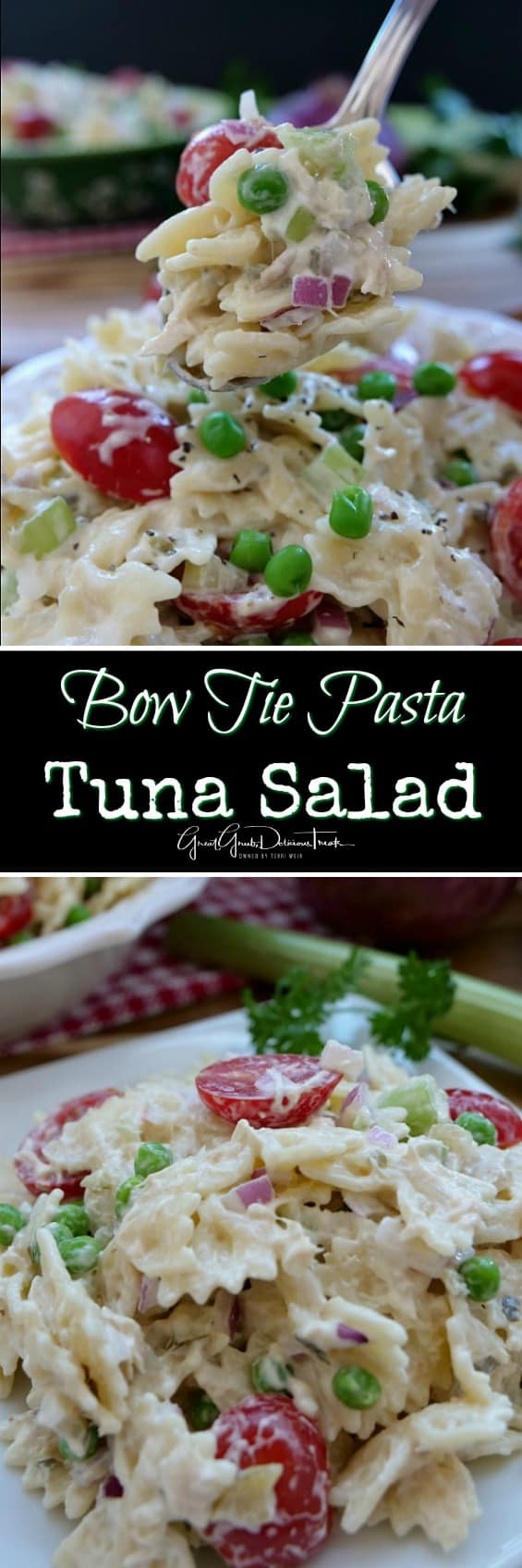 Bow-Tie Salad with Tuna pictures