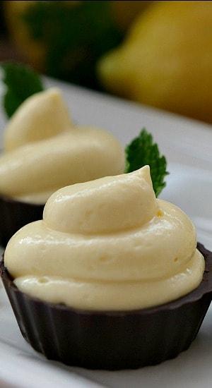Cream Cheese Lemonade Dessert Cups