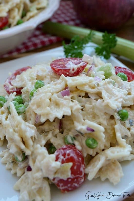Bow Tie Pasta Tuna Salad