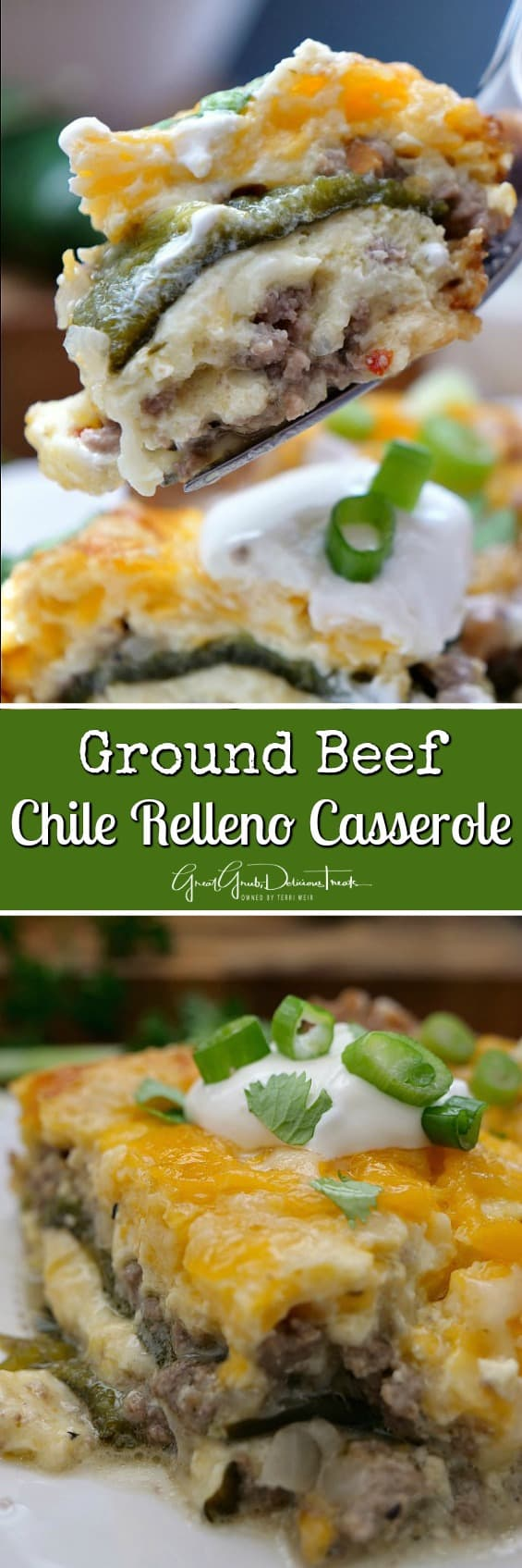 Ground Beef Chile Relleno Casserole