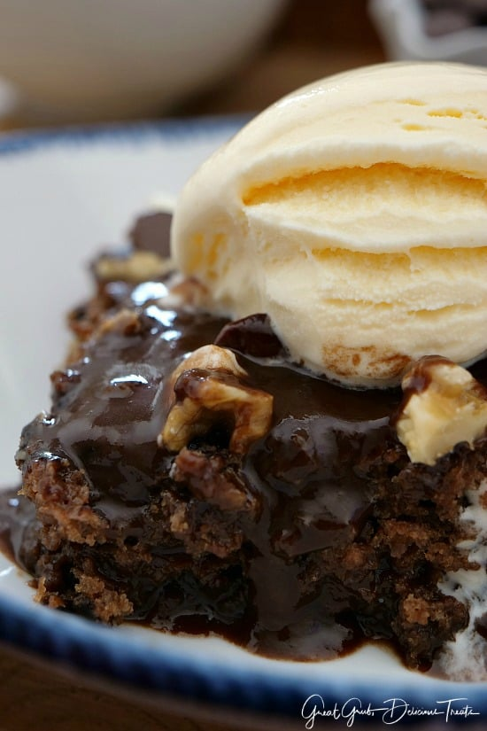 Chocolate Brownie Pudding Cake