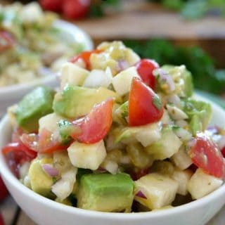 Jicama Avocado Salad