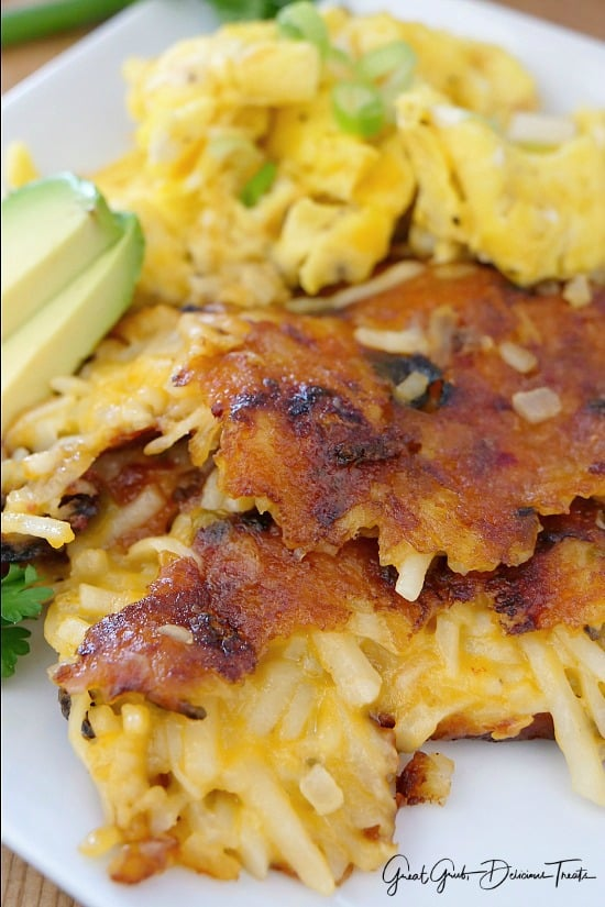 Cheesy Hash Browns