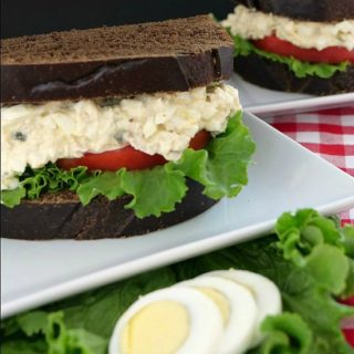 Tuna and Egg Salad Sandwich