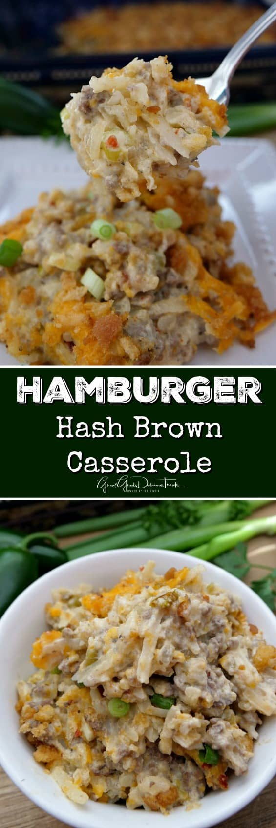 Hamburger Hash Brown Casserole