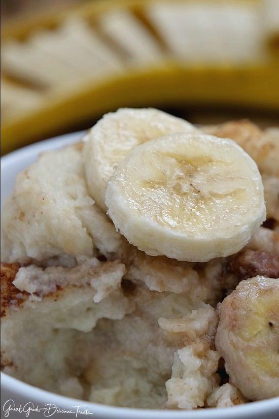 Banana Nut Bread Pudding