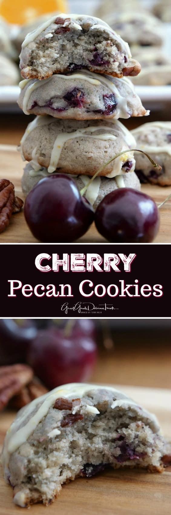 Cherry Pecan Cookies