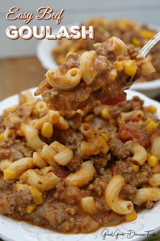 Easy Beef Goulash