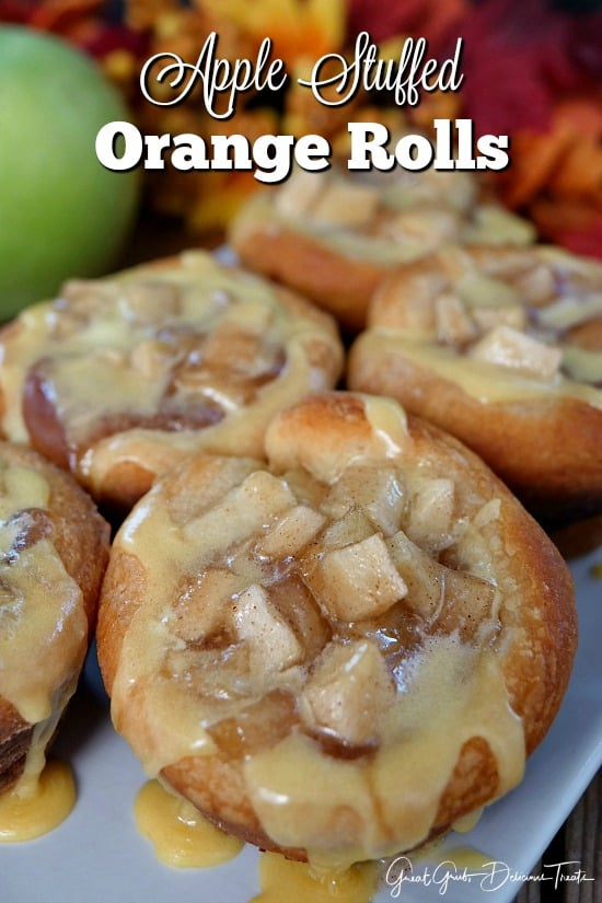 Apple Stuffed Orange Rolls