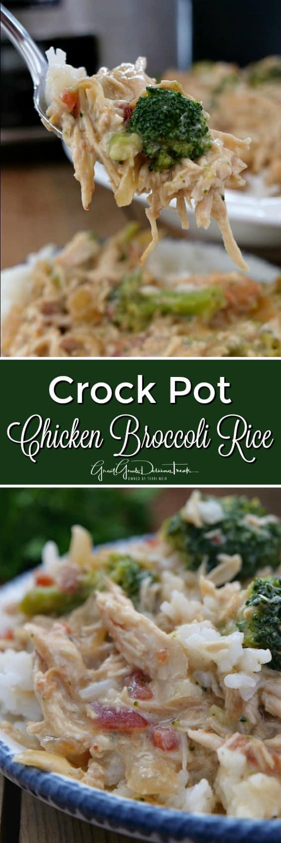Crock Pot Chicken Broccoli Rice