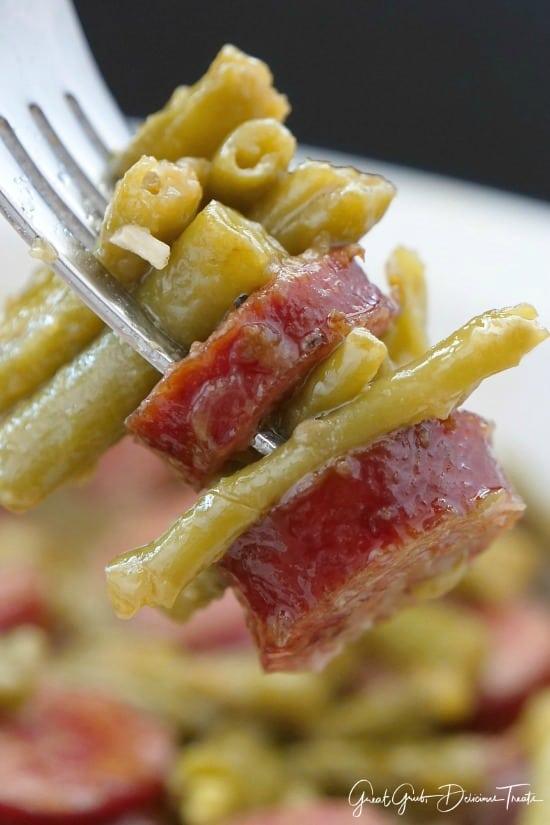 Sausage Kielbasa Green Beans