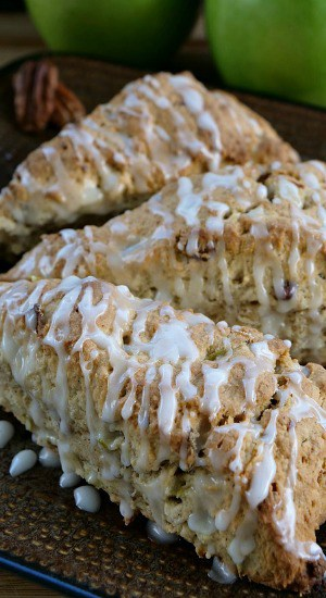 Apple Pecan Scones
