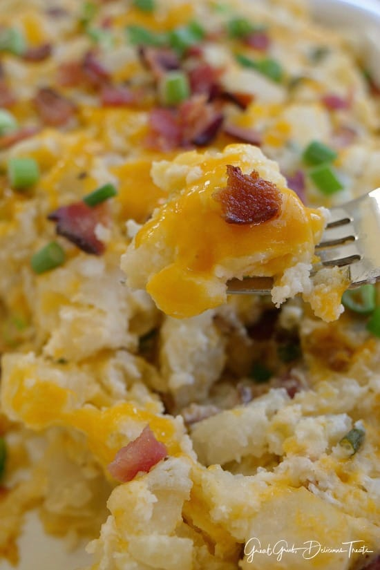 Loaded Baked Potato Casserole