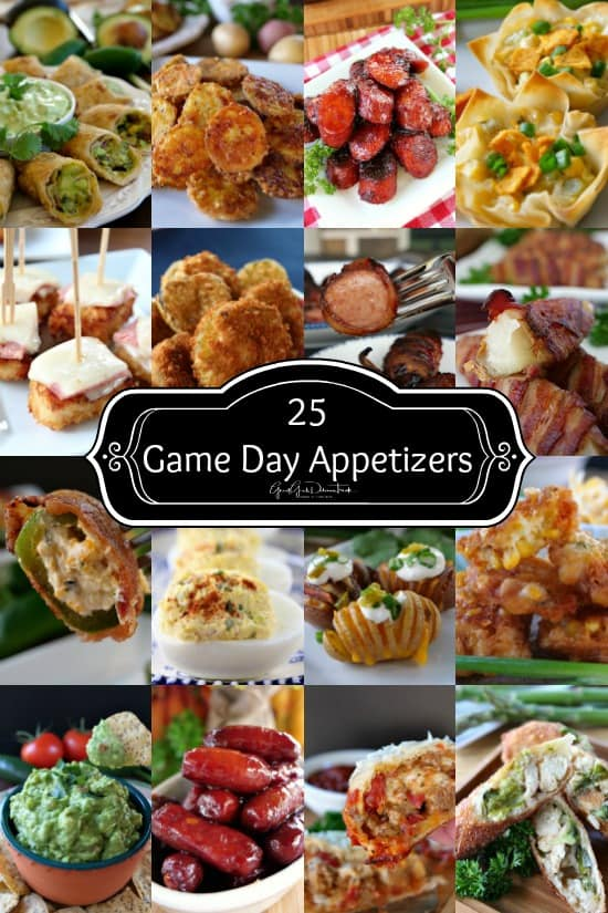 25 Game Day Appetizers