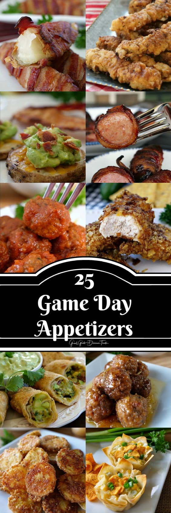 25 Appetizer Recipes for the Big Game